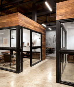 Wooden Framed Office Partitions