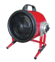 GIS-05W  415v 3 phase 5kw industrial fan heater