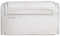 Unico R 12HP 8900 BTU low or high wall mounted monoblock air conditioner with heat pump with additional 2 kw heating
