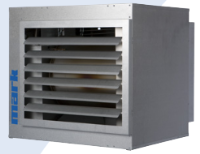 GS+ 135 air heater with modulating EC fan 128.3 kW