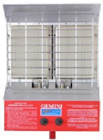 Gemini TM-DPH 5.8kw Gas fired double plaque heater