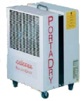 Calorex PD150AX 23L/24hrs dehumidifier with hot gas defrost and humidisat