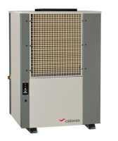 Calorex DH300BY 300kg/24hrs 3 phase dehumidifier with reverse cycle defrost