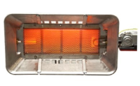 Flamrad 711A-NG 10.6 kw Gas Fired Plaque heater - Automatic - Natural Gas
