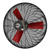 K6E71 13300m3/hr basket fan