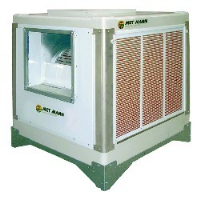 AD-15-H-100-030 15000m3/hr evaporative cooler with with painted louvers