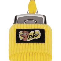 Yellow Sock Style Phone Cover Holders