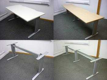 Desk Frames With Various Tops