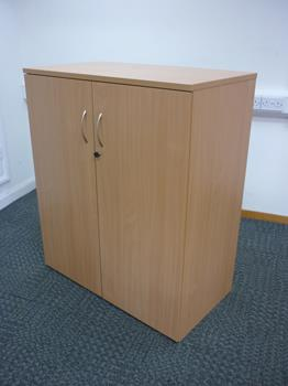 1200mm high beech cupboard 1020mm wide