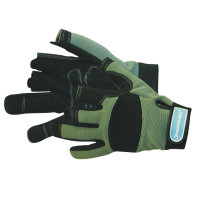 Padded Work Gloves - Part Fingerless