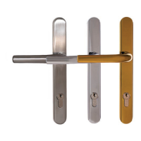 Q-Line Coastline Lever/Lever Handle with Long Backplate