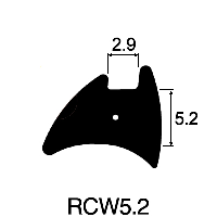 RC Wedge 5.2mm x 2.9mm