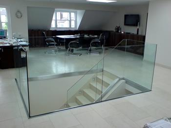 Glass Floor Work