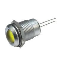 M14 LED Panel Mount Indicators with round lens