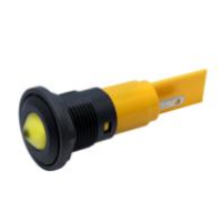 M16 LED Panel Mount Indicators with conical lens
