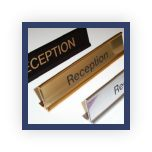Engraved Desk Nameplate Holders
