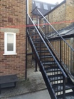 New Metal Stairs