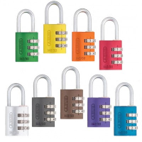 Abus 145/20 resettable combination padlock
