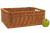 Superior RECTANGULAR STORAGE Basket - approx 40x28x15cm (medium)