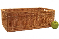 Superior RECTANGULAR STORAGE Basket - approx 50x35x18cm (large)