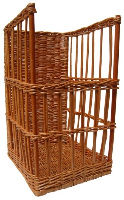 Superior Baguette Stand Display Basket (Narrow) - 29x37x50cm high