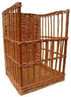 Superior Baguette Stand Display Basket (Regular) - 36x37x50cm high