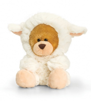 Easter Pipp the Bear 14cm by Keel Toys - LAMB