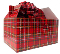 Giant Gable Box GIFT KIT - (35x24x18cm) TARTAN