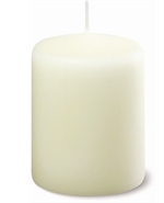 Ivory Pillar Candles (Pack Of 4)