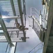 Working at Height Folding Stairs
