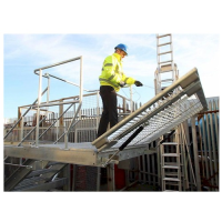 Safe Access Folding Platforms
