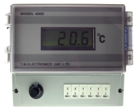 4006 - Wall Mounting  Six Input Thermocouple Thermometer