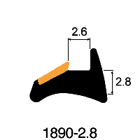 Wedge 2.8 x 2.6mm