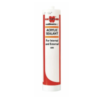 Würth 310ml White Acrylic Sealant