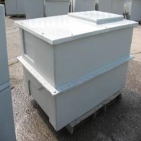 1500 Litre - 330 gallon 1.5x1x1m Pre-Insulated Semi Sectional Water Tank with Horizontal Joint