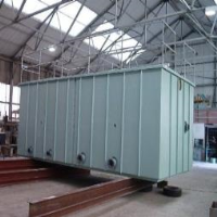 One of our many tank projects in our factory in Shropshire