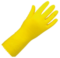 Yellow Marigold Household Rubber Gloves Medium Per Pair