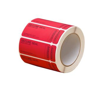 Non-Residue Security Labels with 15mm Strip