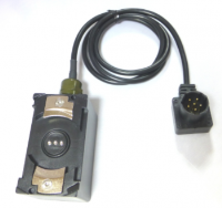 BBXX90 Plug with MBIRT-Harris 152 Battery Eliminiator