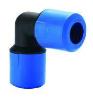 J.G Speedfit Blue Equal Elbow