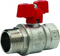 T Handle Ball Valve WRAS Approved M/F