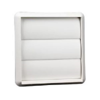 """100mm (4"""") Gravity Grille In White"""