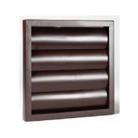 """100mm (4"""") Gravity Grille In Brown"""