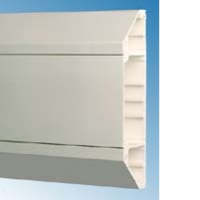 Univolt SLC50/170 3 Compartment Chamfered Dado Trunking 3Mtr Length