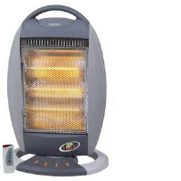 Igenix IG9513 1200w Floor Standing Halogen Heater With Timer And Remote Control