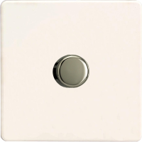 Varilight HDQ7S 1 Gang Low Load 2-Way Push-On Push-Off Dimmer