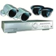 Byron DVR250SET DVR With 2 Indoor & 2 Outdoor Cameras
