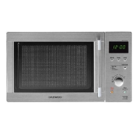 Daewoo KOR6N7RS 20 Litre Touch Control Stainless Steel Microwave