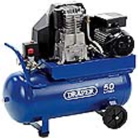 09530 50 Litre 230 Volt Belt-Driven Air Compressor