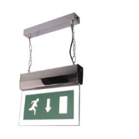 EML LEDM LED Maintained Hanging Exit Sign